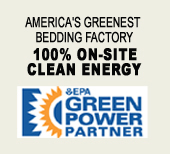 America's Greenest Bedding Factory